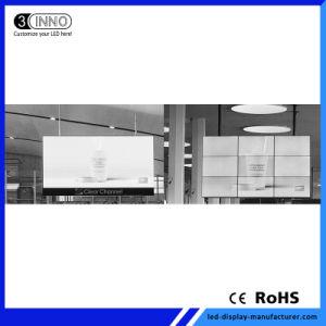 P2.54mm ultra haute définition épissage transparente petite hauteur de pixel affichage LED