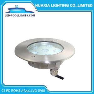 indicatori luminosi subacquei del raggruppamento messi 6W di 12V IP68 316ss LED