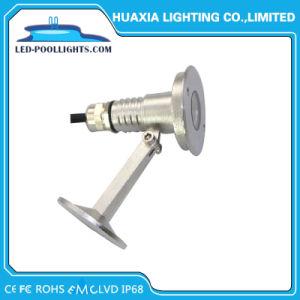 3W 304/316池のためのステンレス鋼LED水中ライト