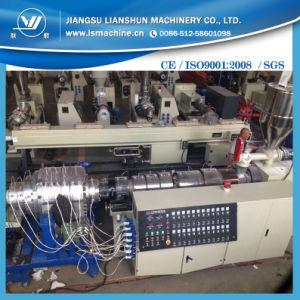 Una buena calidad máquina de extrusión de tubo de PVC doble /Máquina de fabricación del tubo de PVC doble tubo/línea de producción