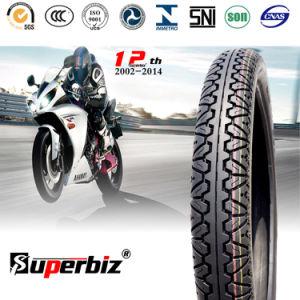 300-17 Soncapの6層定格のBajajのオートバイのタイヤ