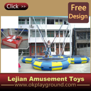 CE parc d'attractions mobile Bungee Trampoline (12175B)