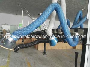 Brazos flexibles para la soldadura de stand de formación