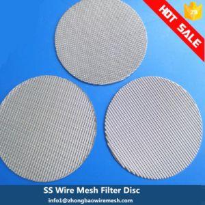 Из проволочной сетки фильтра диски для Пластиковой Промышленности