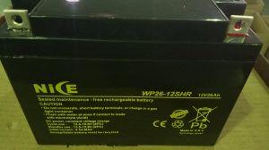 12V 26AH VRLA герметичный свинцово-кислотный необслуживаемая батарея ИБП