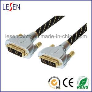 DVI Kabel, DVI Stecker zum DVI Stecker, Metalshell