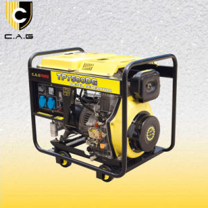 6kw 디젤 엔진 휴대용 발전기 (TP7500DG/E)