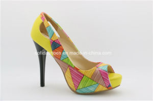 Newest Fashion Sexy High Heels Lady sandales de plate-forme