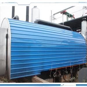 Installatie van de Distillatie van de Raffinaderij van de Ruwe olie de Horizontale