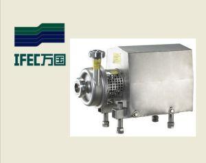 Gesundheitliche Milch-Schleuderpumpe des Edelstahl-SS304 mit geöffnetem Antreiber