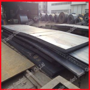Piatto del acciaio al carbonio (A36 SS400 ST37 St38 Q235 Q235B)