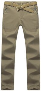 Modo lungo Trouserspants casuale del Chino del Mens