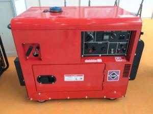 8KW 192f à démarrage électrique refroidi par air Mini Groupe électrogène diesel à usage familial