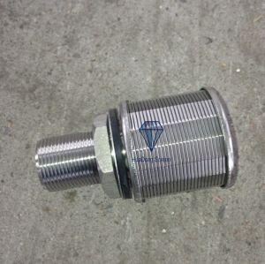 Ss304 Groef 0.5mm de Filter Nozzole van het Water/de Filter Nozzole van het Roestvrij staal