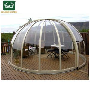 De grote Telescopische Hete Tub Cover Luxury SPA Dekking van de Pool