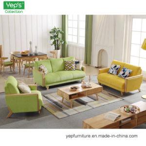Casa de madera maciza Muebles salón sofá 1+2+3