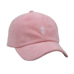 Gorra de gamuza personalizada con bordados