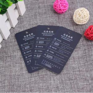 El espesor de papel duro Customfashion Hang Tags para prendas de vestir
