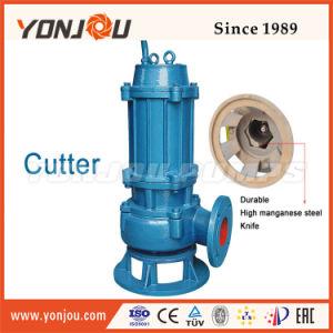 Qw Cascade de la pompe d'eaux usées submersible // de grande capacité de la pompe de la pompe