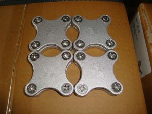 Алюминиевая квадратная струбцина 25*3mm ленты для предохранения от Earthing