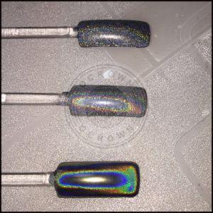 Unicorn лак для ногтей - голографическая Блестящие цветные лаки отслаивается хром радуги пигмента