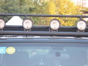 Voyant auto des feux de travail EMC 27W 4 pouces de lampe de travail phare de travail du chariot