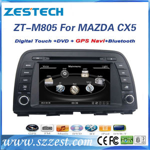 GPS 의 라디오, DVD를 가진 Mazda Cx5에서 Wince6.0 차 DVD 플레이어