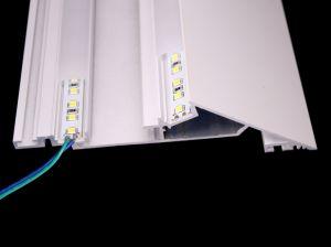 2018 nuovo tipo profilo di alluminio anodizzato LED dell'intonaco del muro a secco per l'indicatore luminoso di striscia del LED