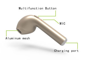 Trasduttore auricolare senza fili della cuffia avricolare V4.1 di Hbq I7 Bluetooth per il iPhone 7/8/X