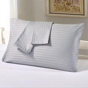 lenzuolo di tela della banda dell'assestamento dell'hotel 100%Cotton con la federa
