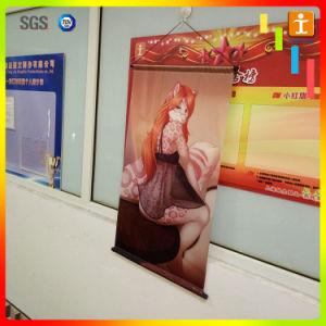 Advertizing&Promotion Polyeasterのハングの旗、カスタムファブリック旗、日本製アニメの壁スクロール