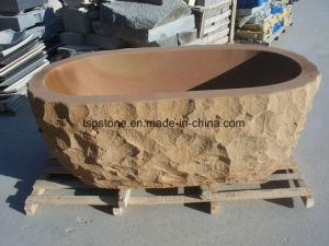Vasca Da Bagno In Pietra : Arenaria di pietra naturale del basamento vasca da bagno di pietra