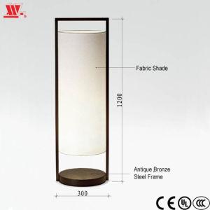 Lámpara de pie con tela Lampshade DW-5
