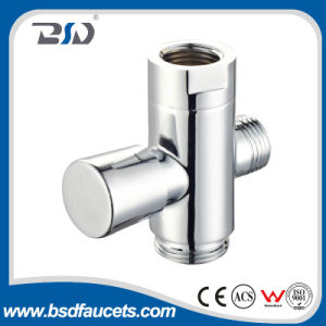 Chrom-Messingdusche-Quadrat-Ablenker für Dusche-Mischer-Dusche-Arm