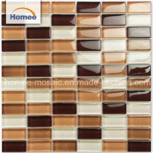 Heißes Verkaufs-Badezimmer-Dekoration-Küche Backsplash Glas-Mosaik