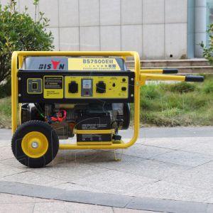Elektrisches Anfangszuverlässiger Benzin-Generator des Bison-(China) BS7500u (H) 6kw