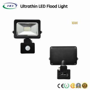 Hochwertiges 10W SMD LED Flut-Licht mit PIR Fühler
