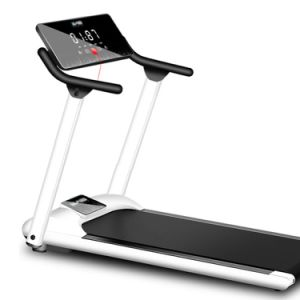 Salle de gym de la mode des appareils de fitness de l'exercice de la formation commerciale de sports machine de course sur tapis roulant pliable
