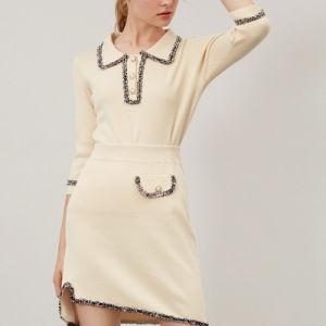 Мода одежды женщин одежда костюм из двух частей свитера