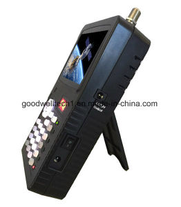 Mini-3.5Localizador de Satélite com porta Ahd Dosador para testes de câmaras CCTV