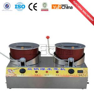 Hot Sale pop-corn automatique Machine / Gaz électrique
