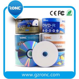 4.7GB 공백 디스크 인쇄할 수 있는 DVD-R 16X