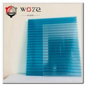Hoja hueca de policarbonato con protección UV con 10 años de garantía