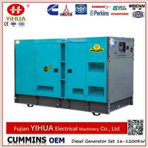 Generador de potencia diesel silencioso de /Open Cummins (tipo de Denyo y aprobación del CE)