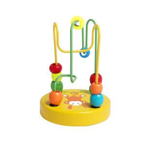 Cute Mini Beads jouet en bois pour bébés et nourrissons