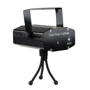 Mini Laser discoteca parte iluminación de escenarios Seis en uno de los efectos de control de sonido