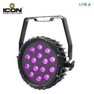 屋外IP65 9*18W Rgbwyuv 6in1の段階の照明LED同価