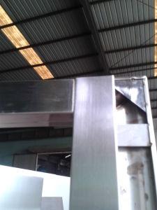 Porte coupe-feu d'acier inoxydable avec les BS et l'UL (CF-F011)