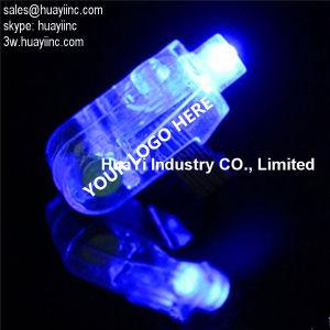 당을%s 인쇄된 LED 핑거 빛