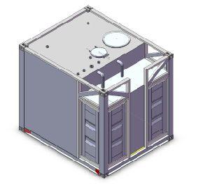 Топливный бак Cube контейнер с 1000L для 80000L